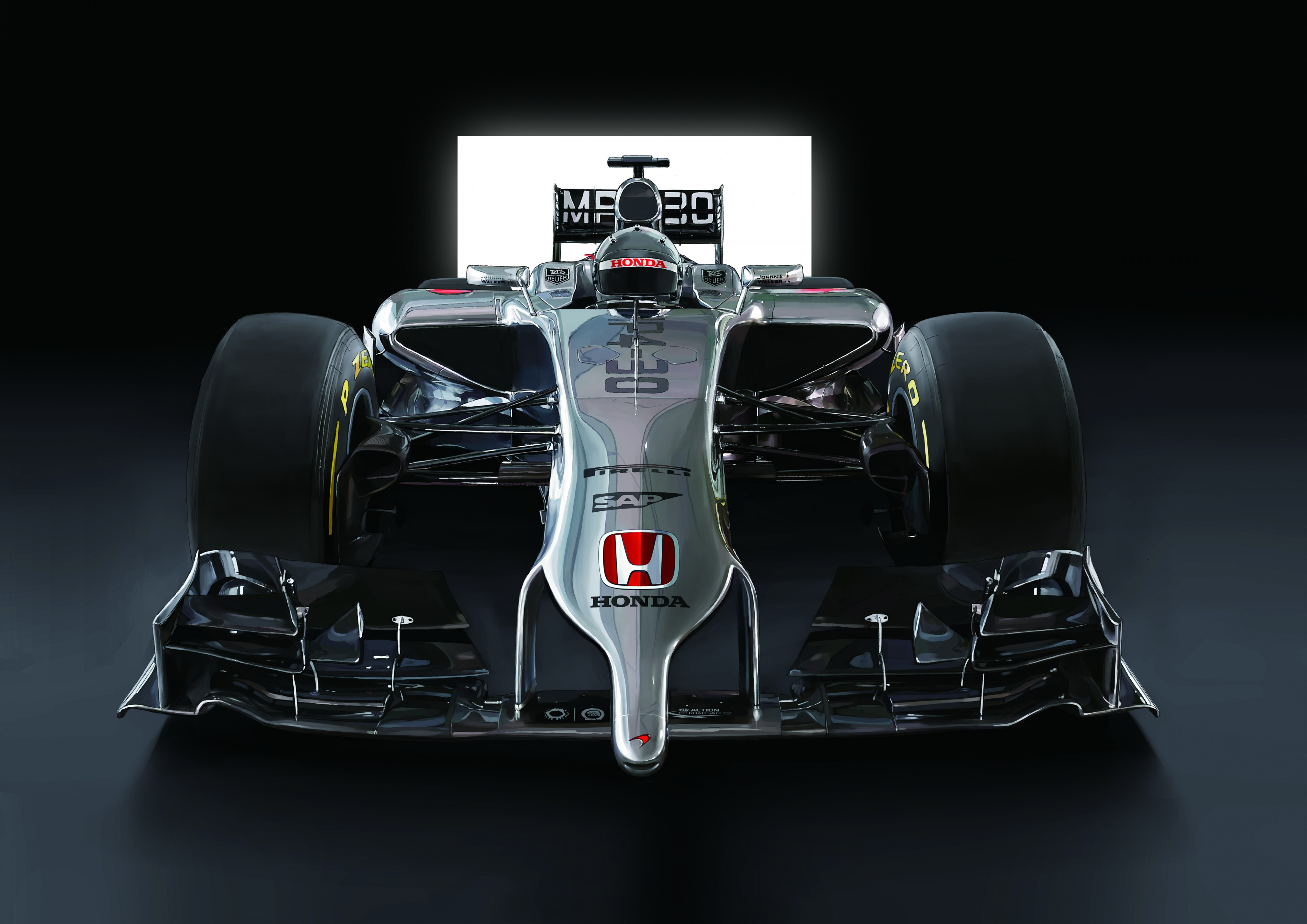 Mclaren Honda Mp4 30 M M Illustrations